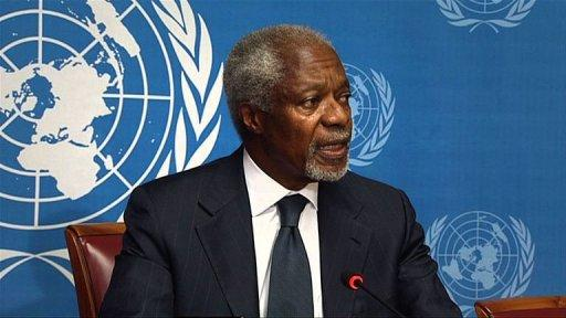 China has expressed regret Friday over former UN chief Kofi Annan's resignation