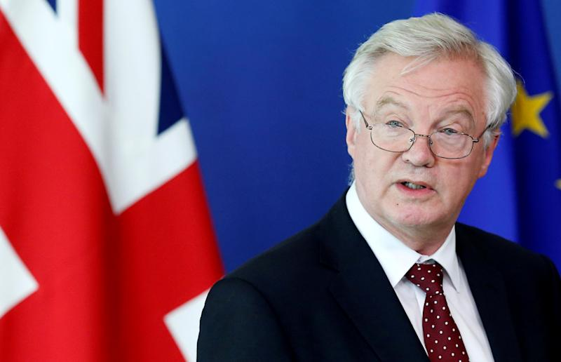 Brexit Secretary David Davis (Reuters)