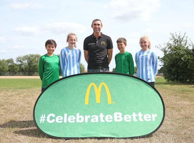 Former Arsenal defender Martin Keown has been working alongside McDonald's in their Grassroots Football initiative.