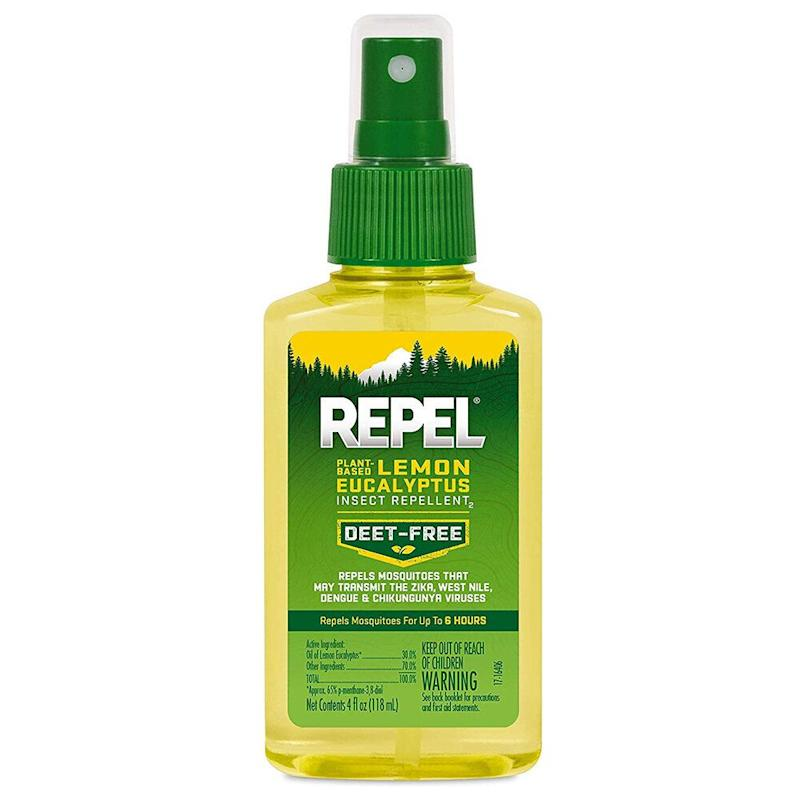 Repel Plant-Based Lemon Eucalyptus Insect Repellent. (Photo: Amazon)