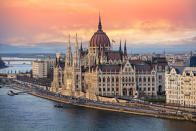 This Hungarian Parliament building is a Neo-Gothic structure that's more than 100 years old. [Photo: Getty]