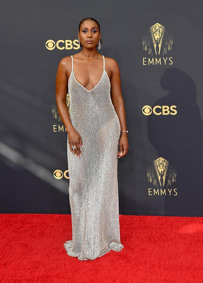 Issa Rae at the 73rd Primetime Emmy Awards held at L.A. Live on September 19, 2021. - Credit: Michael Buckner for Variety