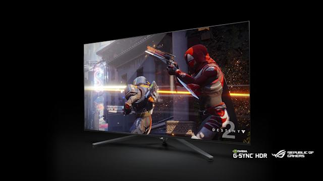 Nvidia's new Big Format Gaming Displays are massive computer screens with incredible performance and color.