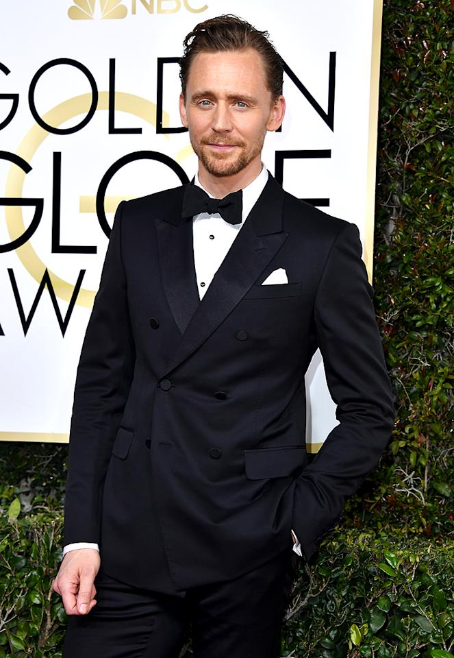 <p>Actor Tom Hiddleston attends the 74th Annual Golden Globe Awards at The Beverly Hilton Hotel on January 8, 2017 in Beverly Hills, California. (Photo by Steve Granitz/WireImage) </p>