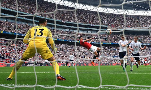 Alexis Sanchez scored the equaliser as United went on to win 2-1
