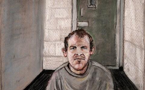 <span>Tarrant appears via video link at the Christchurch District Court, from the maximum security prison in Auckland</span> <span>Credit: Stephanie McEwin/ AP </span>