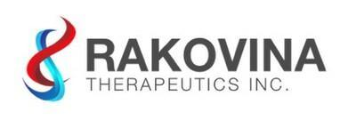 Rakovina Therapeutics Inc. Logo (CNW Group/Rakovina Therapeutics Inc.)