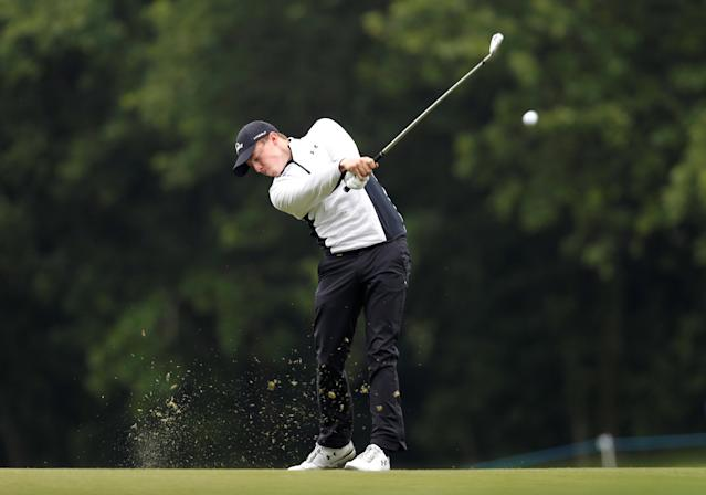 Golf - European Tour - BMW PGA Championship - Wentworth Club, Virginia Water, Britain - May 24, 2018 England's Matthew Fitzpatrick in action during the first round Action Images via Reuters/Paul Childs