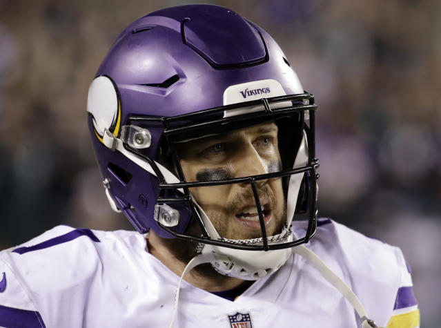Minnesota Vikings' Case Keenum won't get the franchise tag, according to a report. (AP)
