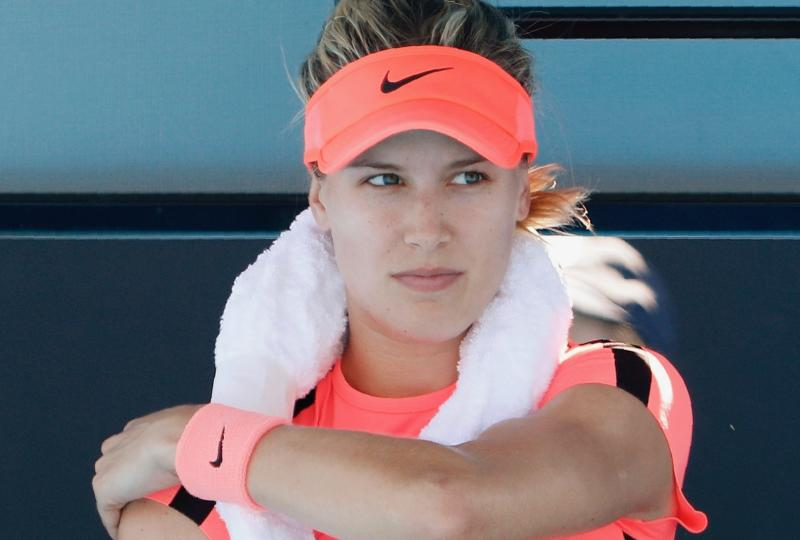 I Screamed, 'Oh My God, it Burns': Eugenie Bouchard