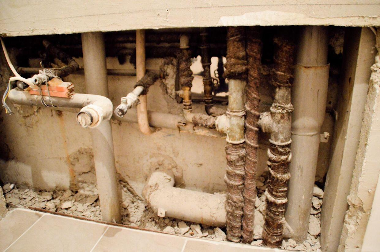 old pipes
