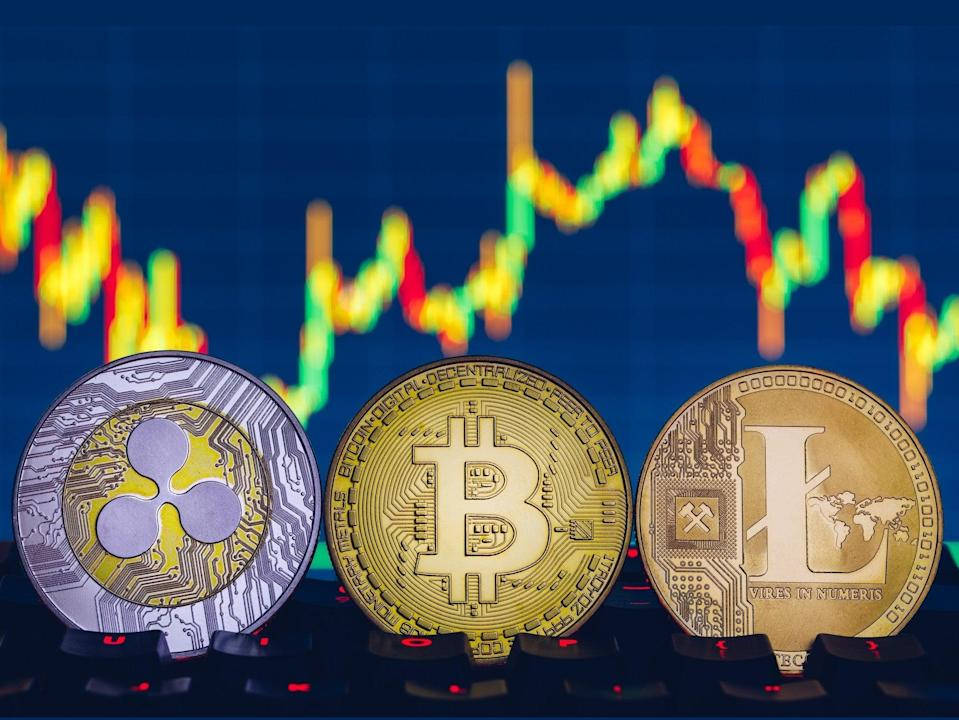 Bitcoin and other leading cryptocurrencies saw a big bounce in price at the end of June 2021 (Getty Images)