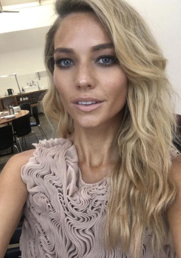 Sam Frost rose to fame looking for love on The Bachelor. Source: Instagram