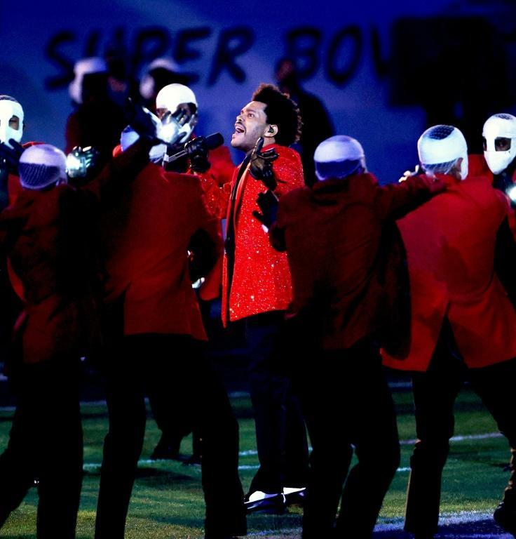 The splashy half-time show, which this year featured The Weeknd, is a mainstay of the Super Bowl