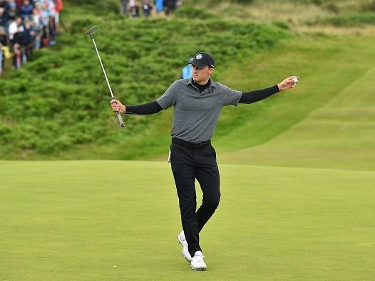 Jordan Spieth surges into contention at The Open (Getty)