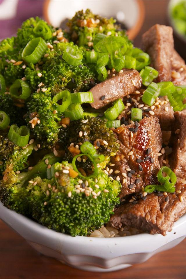 "<p>A buddha bowl you won't believe.</p><p>Get the recipe from <a rel=""nofollow"" href=""http://www.delish.com/cooking/recipe-ideas/recipes/a57698/beef-broccoli-buddha-bowls/"">Delish</a>.</p><p><strong><em>BUY NOW: Ball Wide Mouth Jars, $13.75, <a rel=""nofollow"" href=""https://www.amazon.com/Ball-Wide-Mouth-Elite-Collection/dp/B01AAHH82A/?tag=syndication-20&&ascsubtag=[artid"">amazon.com</a>.</em></strong></p>"