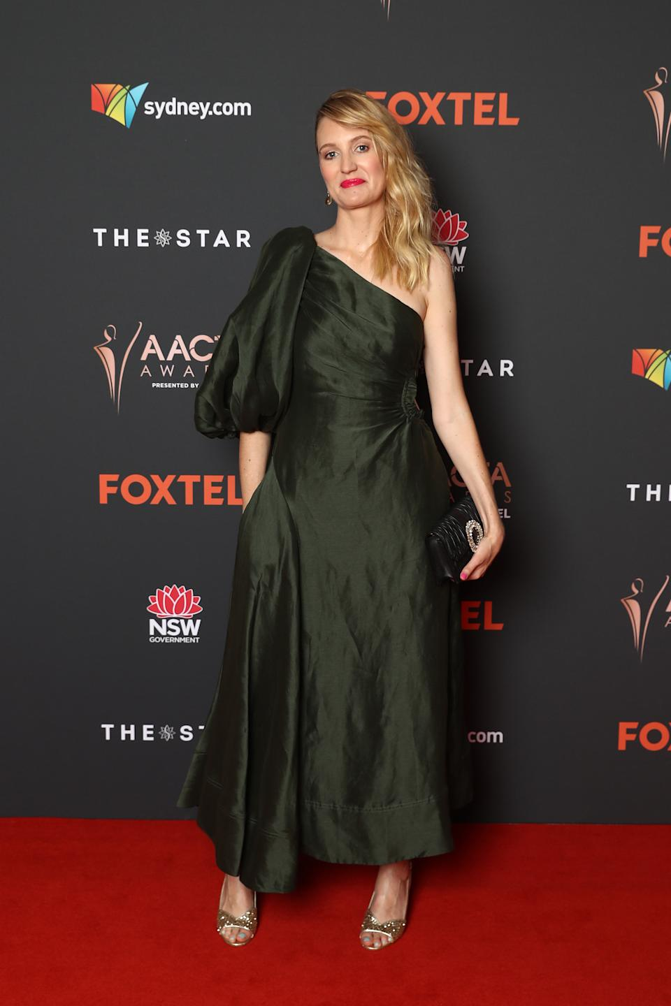Shannon Murphy arrives ahead of the 2020 AACTA Awards presented by Foxtel at The Star on November 30, 2020 in Sydney, Australia