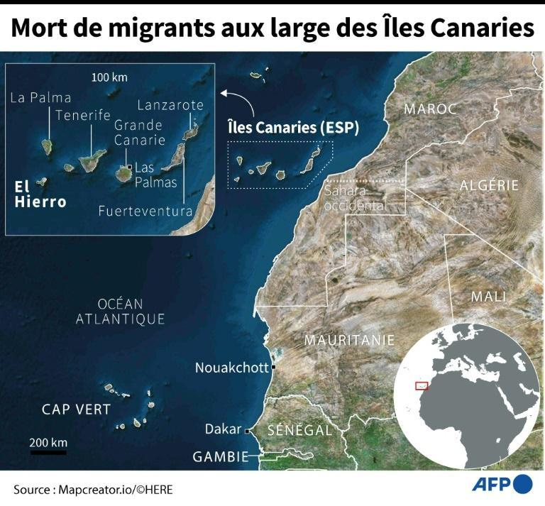 Mort de migrants au large des ïles Canaries
