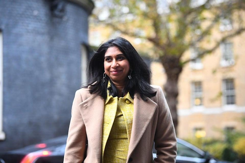 Suella Braverman has returned from her maternity leave to take up her post as Attorney General once more (Victoria Jones/PA) (PA Archive)