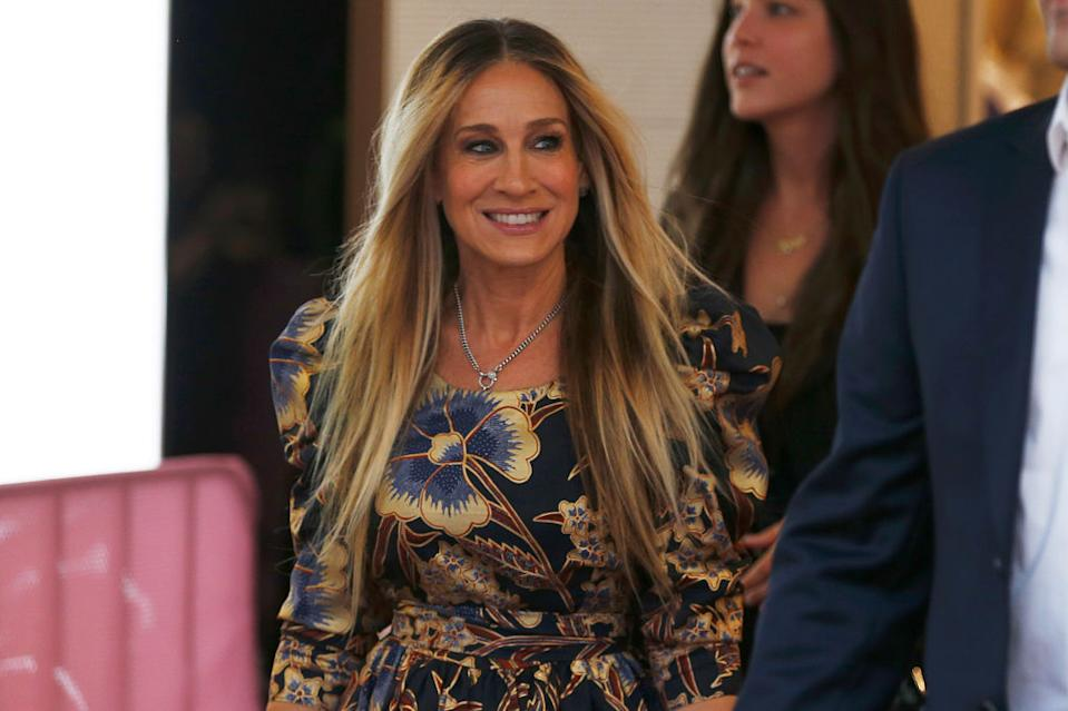 Sarah Jessica Parker is a fan of Cosmopolitans in real life now. (Photo: Daniel Pockett/Getty Images)