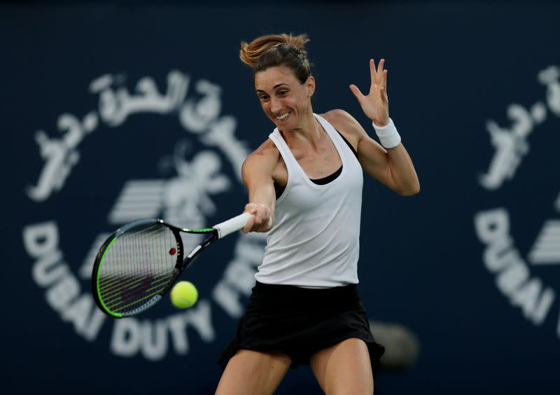 Privilege to be back on court, says Palermo top seed Martic