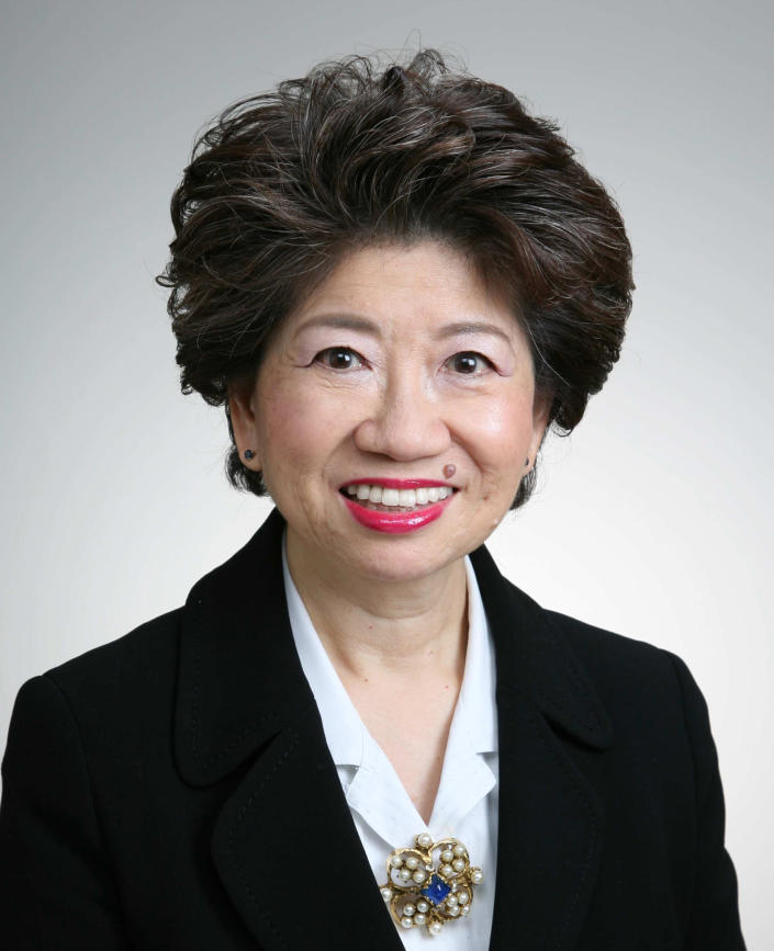 This undated photo released by Honda Motor Co. Monday, Feb . 24, 2014 shows the Japanese auto maker's new board member Hideko Kunii. Honda has appointed a woman to its board for the first time and given a major promotion to a foreigner in a sign the automaker wants to change perceptions of a hidebound corporate culture. Honda announced Monday that technology expert Kunii, 66, will join the board, and Issao Mizoguchi, a Brazilian of Japanese ancestry, has been appointed operating officer. (AP Photo/Honda Motor Co.)
