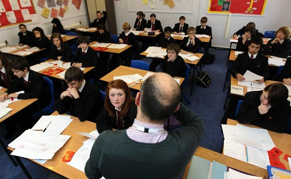 This year's most popular A-level subject was maths (David Davies/PA) (PA Wire)
