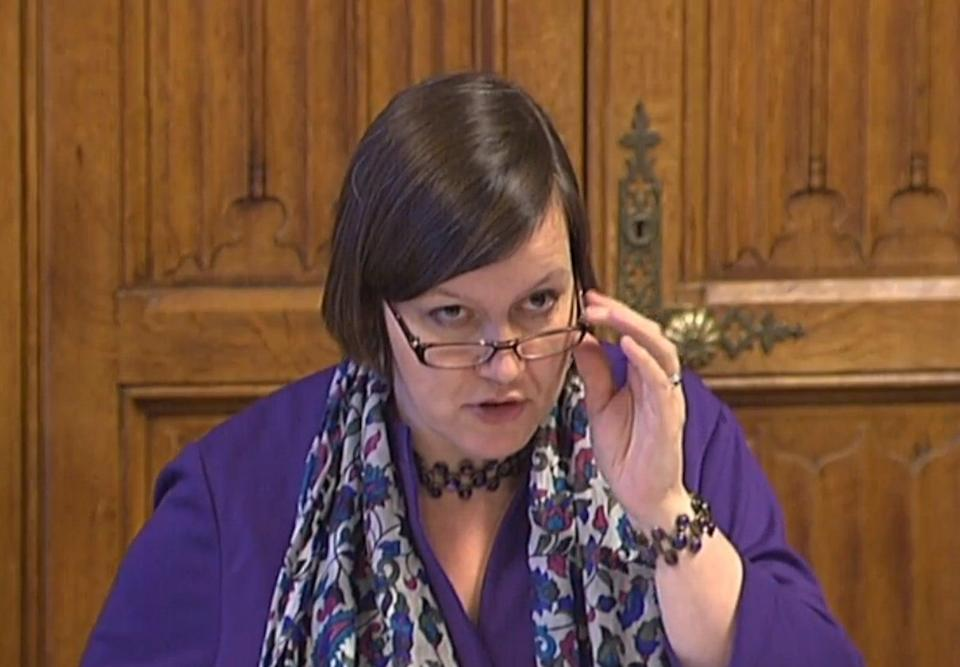 The Docklands victims said Labour MP Meg Hillier had written to Brandon Lewis over Government plans to deal with legacy in Northern Ireland (PA) (PA Archive)