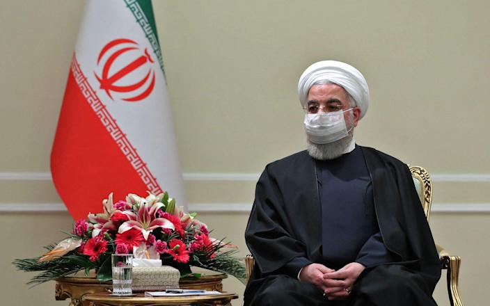 """Iran's President Hassan Rouhani and officials said direct talks with US were """"unnecessary"""" - AFP"""
