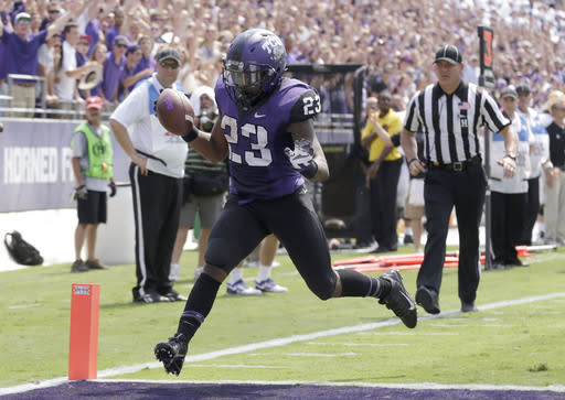 Boykin leads TCU over SE La after Pachall's injury