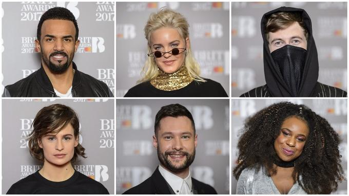 Some of this year's nominations for The Brit Awards 2017 [PA]