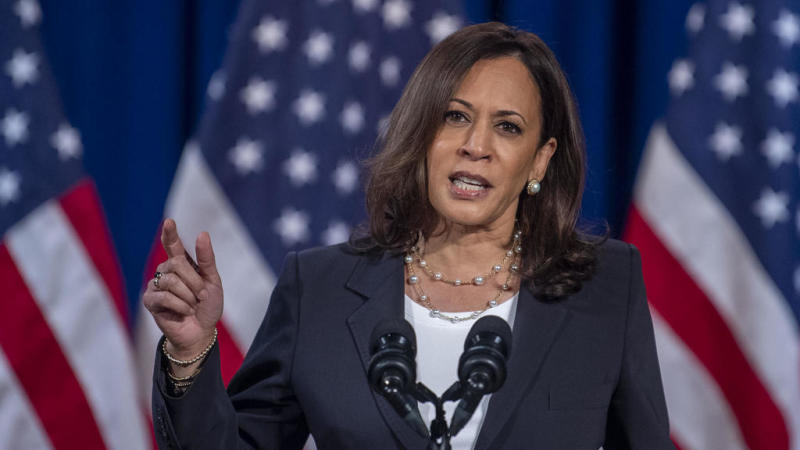 Harris pauses in-person campaign events after staffer diagnosed with Covid-19