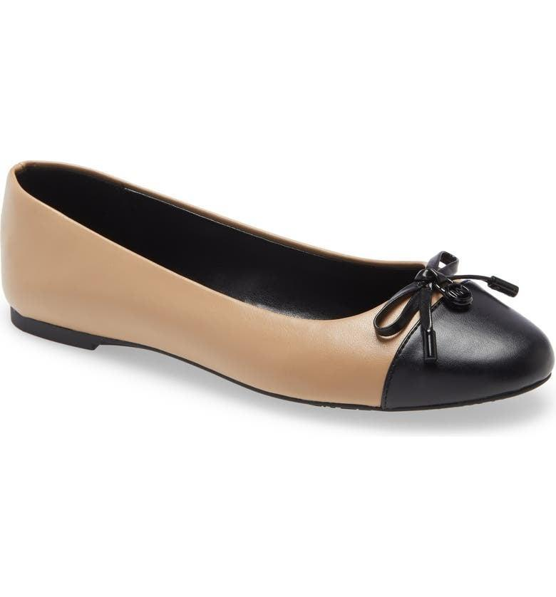 <p>These <span>Michael Michael Kors Melody Cap Toe Flats</span> ($69) are a great pick for the office and beyond.</p>