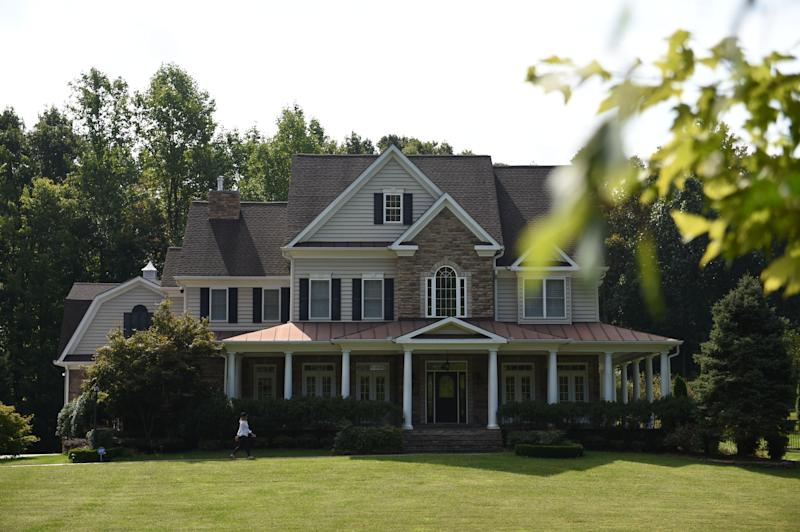 Photo shot September 10, 2019 shows the house in Stafford, Virginia, of alleged spy, Oleg Smolenkov. - American media reported that US agents extracted in 2017 a high-level mole in the Russian government who had confirmed Vladimir Putin's direct role in interfering in the 2016 presidential election. On Tuesday, Russian media named the alleged spy reporting that he had worked at the Russian embassy in Washington before moving to Moscow. (Photo by Eric BARADAT / AFP) (Photo credit should read ERIC BARADAT/AFP/Getty Images)