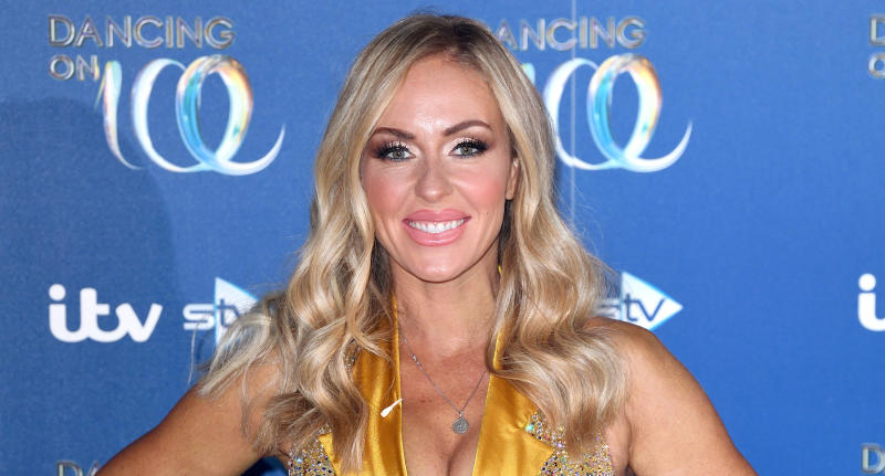 Brianne Delcourt is leaving 'Dancing on Ice'. (Photo by Karwai Tang/WireImage)