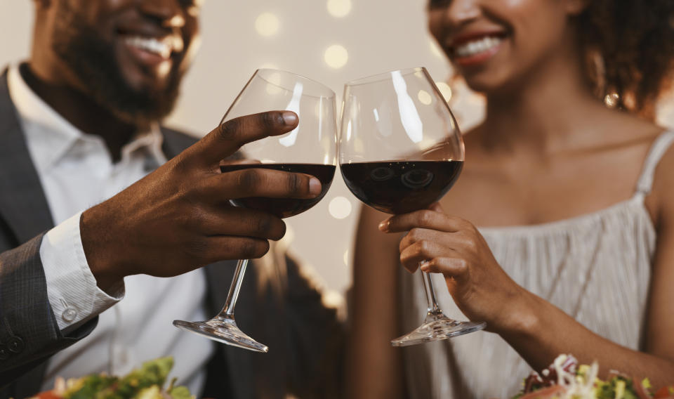 Being interested in your date is one way to help secure another. (Getty Images)
