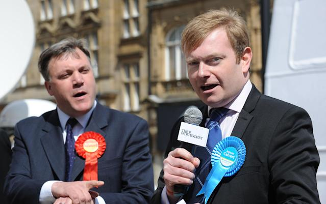Mr Calvert contested the 2010 election for the Conservatives in Morley and Outwood, losing to Ed Balls by 1,101 votes (Picture: Anna Gowthorpe/PA Images via Getty Images)
