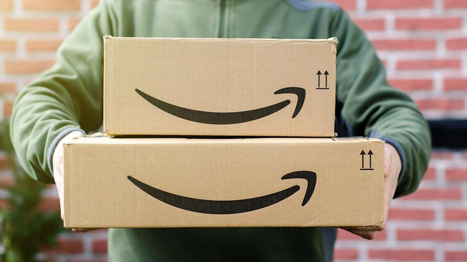 Amazon delivery boxes