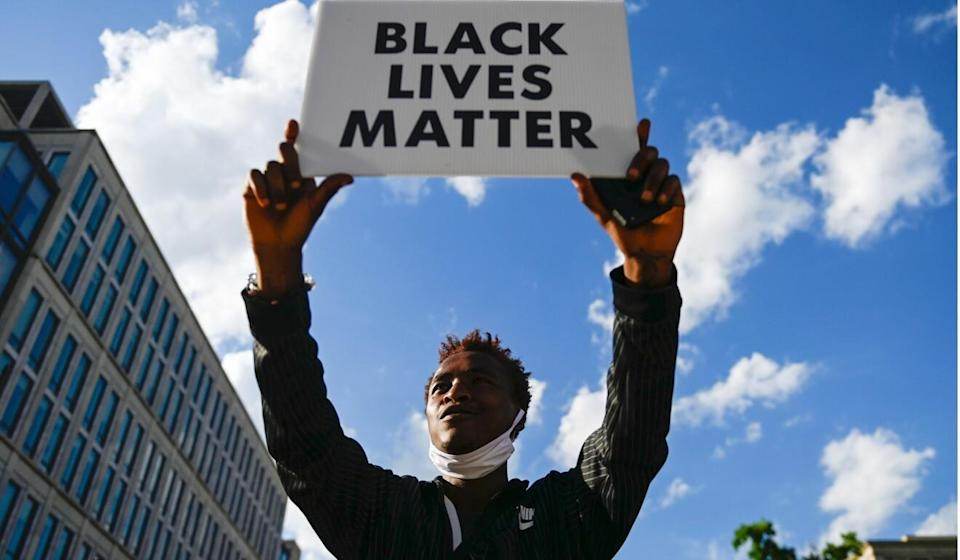 The Black Lives Matter protests gained momentum globally. Photo: AFP