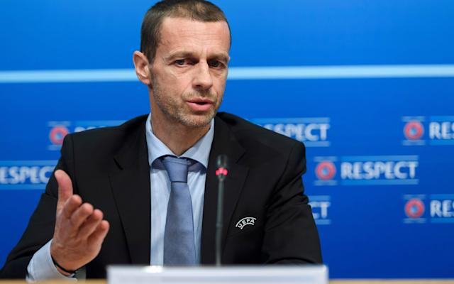"<span>Aleksander Ceferin says ""quite simply, money does not rule""</span> <span>Credit: AP </span>"