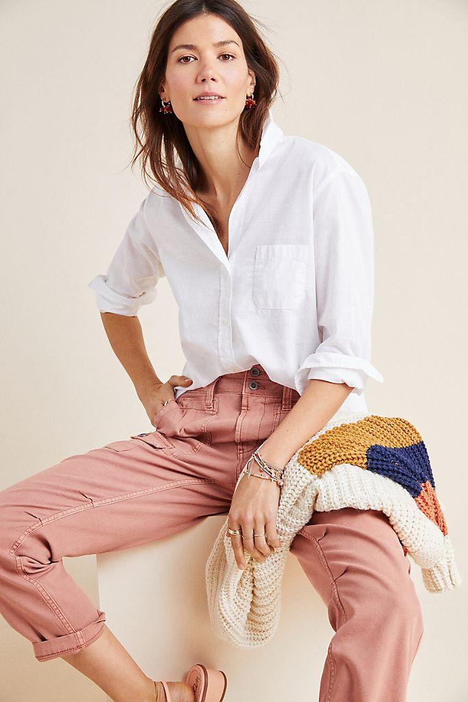 Save 40% on some of Anthropologie's best-selling blouses, pants and more.