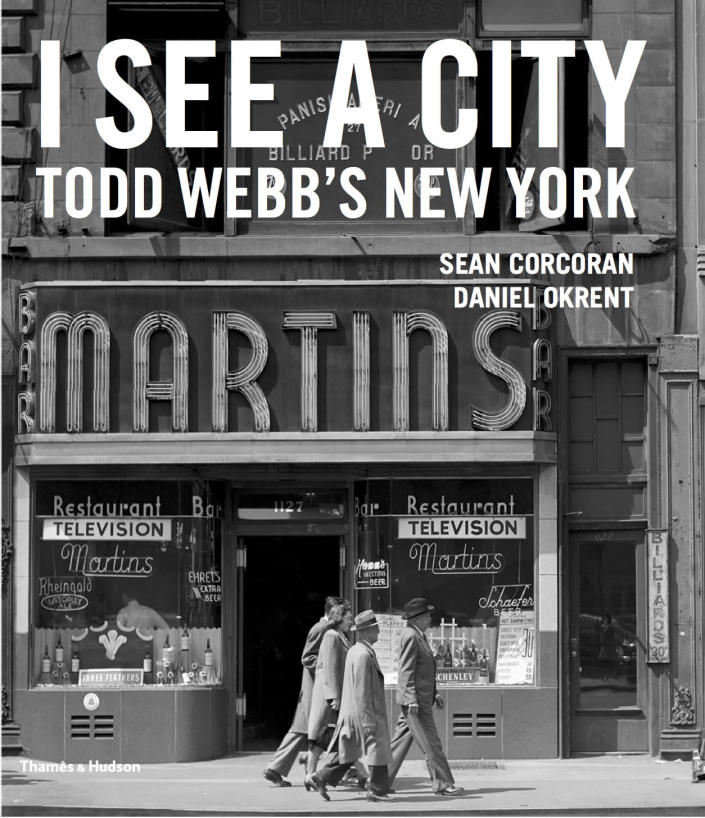 """<p>""""I See a City"""" book jacket. (© Todd Webb Archive) </p>"""