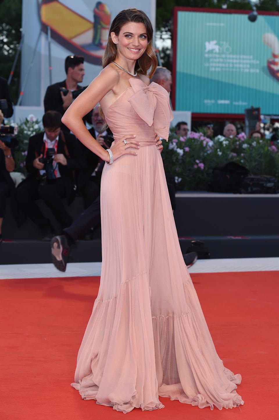 Flora Dalle Vacche. (Photo by Stefania D'Alessandro/WireImage,)