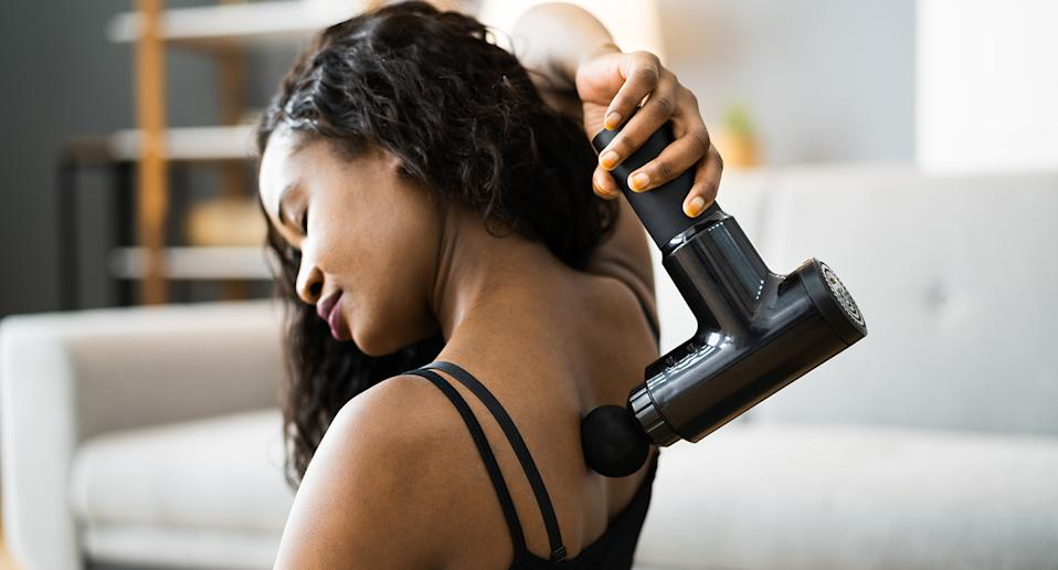 Searching for an affordable massage gun? Look no further. (Getty Images)