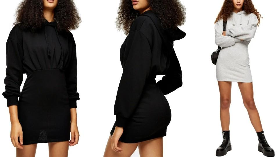 Topshop Hooded Minidress - Nordstrom, $39 (originally $58)