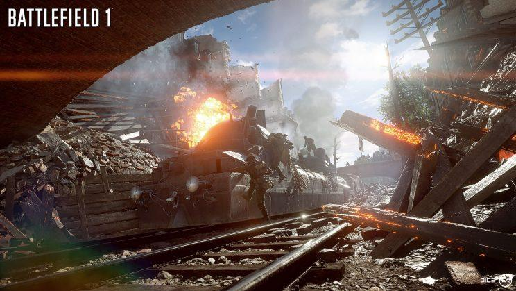 """""""Battlefield 1"""" is an online free-for-all."""