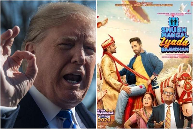 On Day of Release, Ayushmann Khurrana's Gay Rom-Com Catches Trump's Eyes, Calls Movie 'Great'