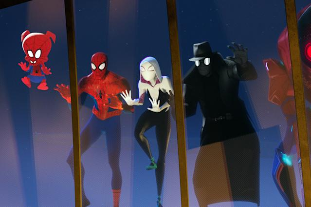 Spider-Man: Into The Spider-Verse (Credit: Columbia Pictures)