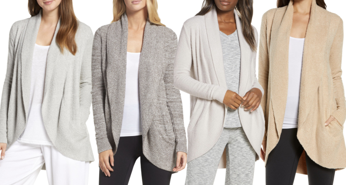 Nordstrom's Barefoot Dreams cardigan is a great casual option for fall (Image via Nordstrom)