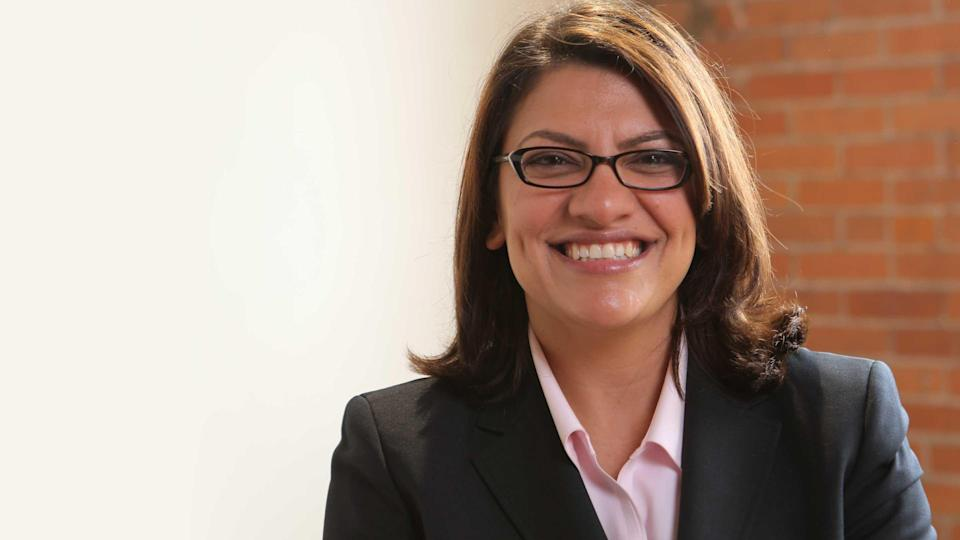 Rashida Tlaib is an activist, a lawyer, and a 2018 congressional candidate in Michigan, who hopes to become one of the first two Muslim women in Congress. (Photo: Makers)